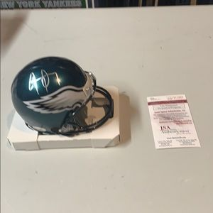 Other - Jay Ajayi Signed Eagles Mini Helment JSA.